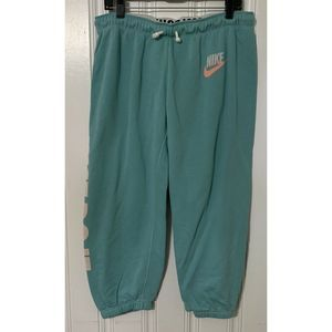 Vintage Nike Size L Just Do It Jogger Pants 90's